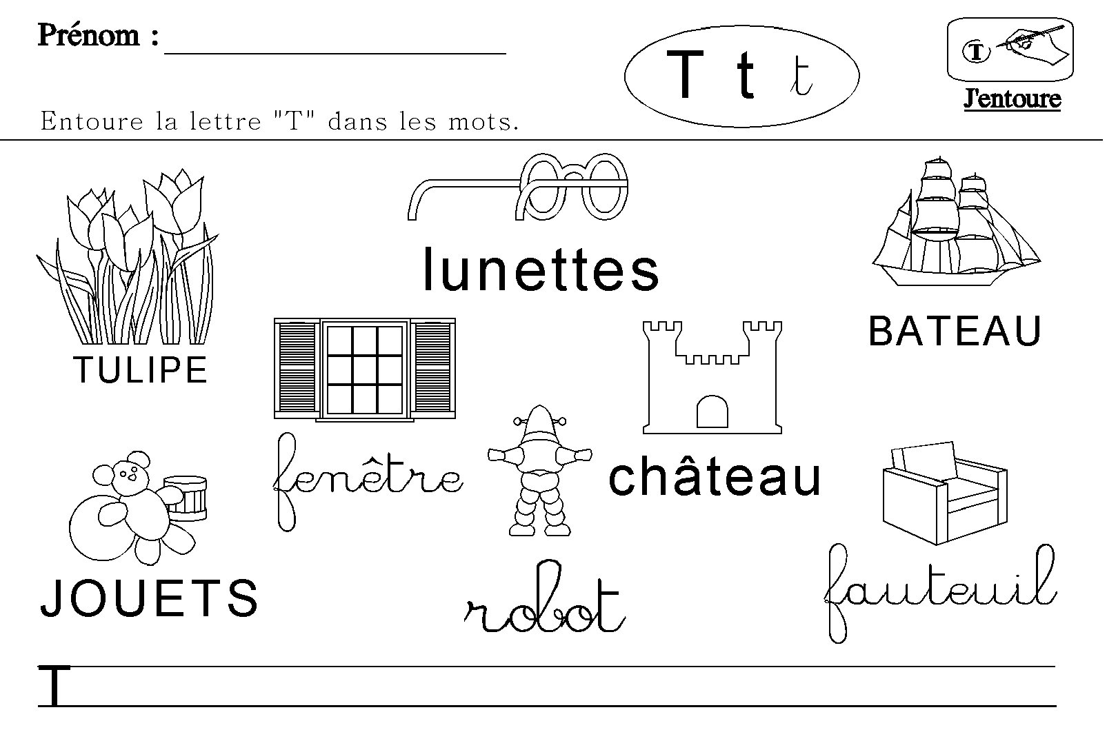 maternelle lecture des lettres de l 39 alphabet. Black Bedroom Furniture Sets. Home Design Ideas