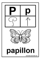 Maternelle lire les lettres de l 39 alphabet des mots des - Abecedaire a colorier ...