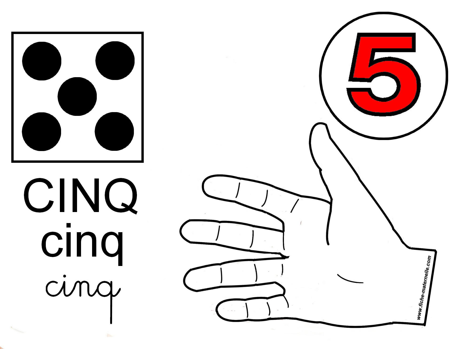 Top Préparation au CP : compter sur les doigts ME46