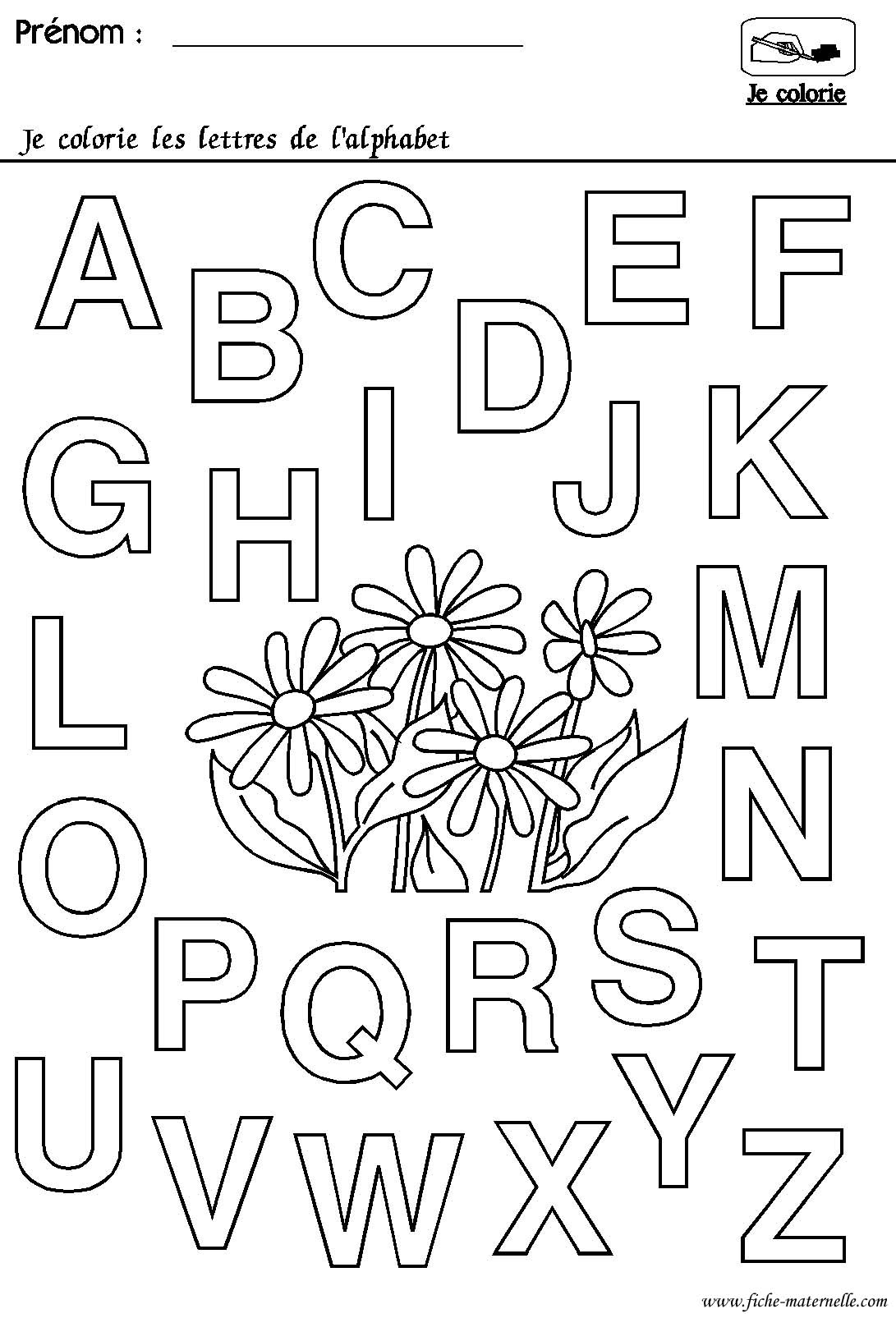 Maternelle rentr e des classes l 39 alphabet - Lettres alphabet maternelle ...