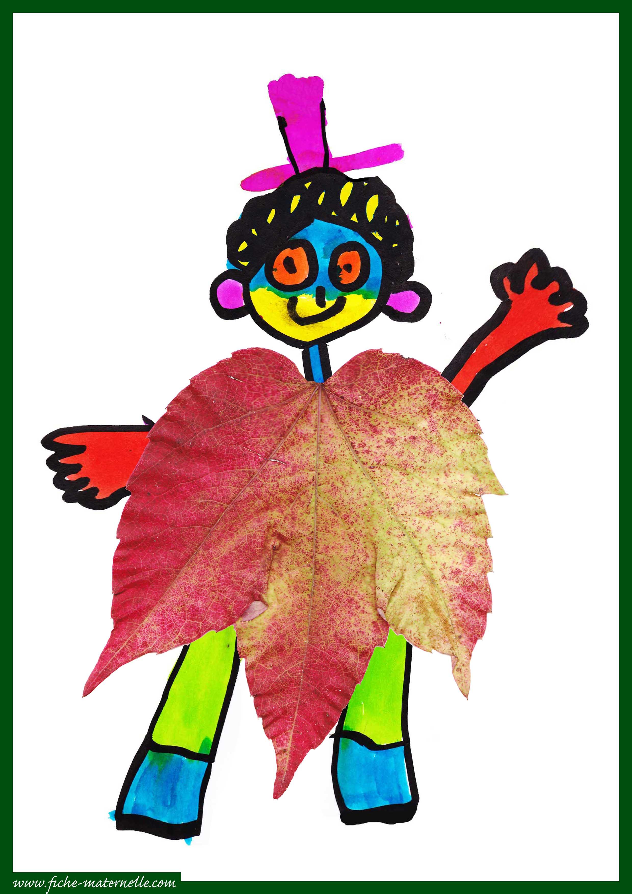 automne à la maternelle