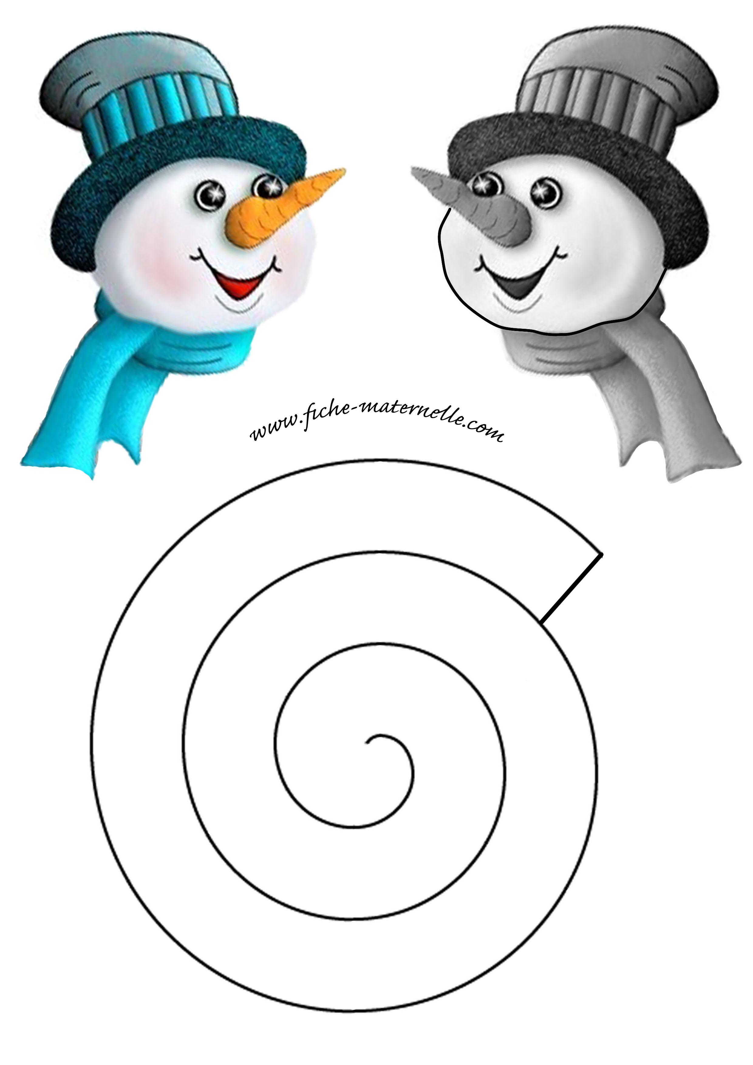 #08A0B9 Décoration De Noël En Maternelle 6333 décoration noel a fabriquer bonhomme de neige 2480x3508 px @ aertt.com