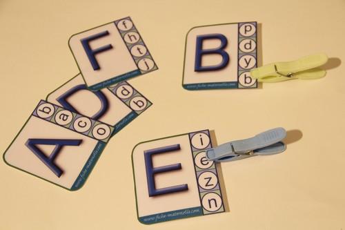 Les lettres de l 39 alphabet en maternelle - Lettres alphabet maternelle ...