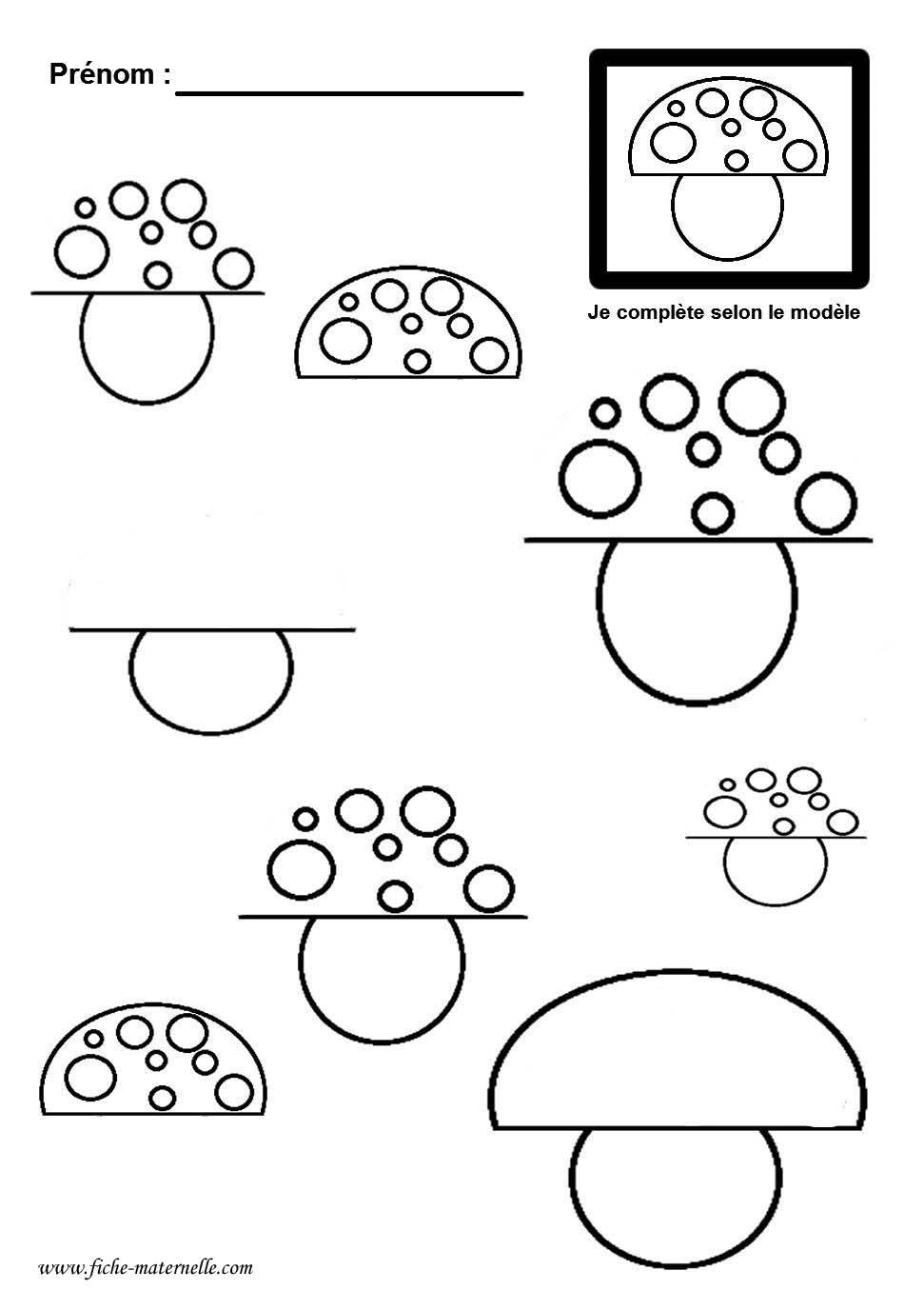 Souvent fiches maternelles de graphisme grande section moyenne section  FA05