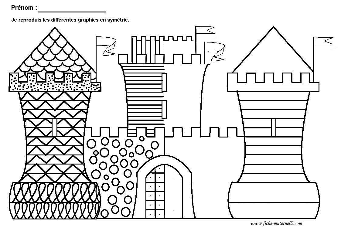 Favori Graphisme Grande Section et Moyenne Section : graphie de base  QN93