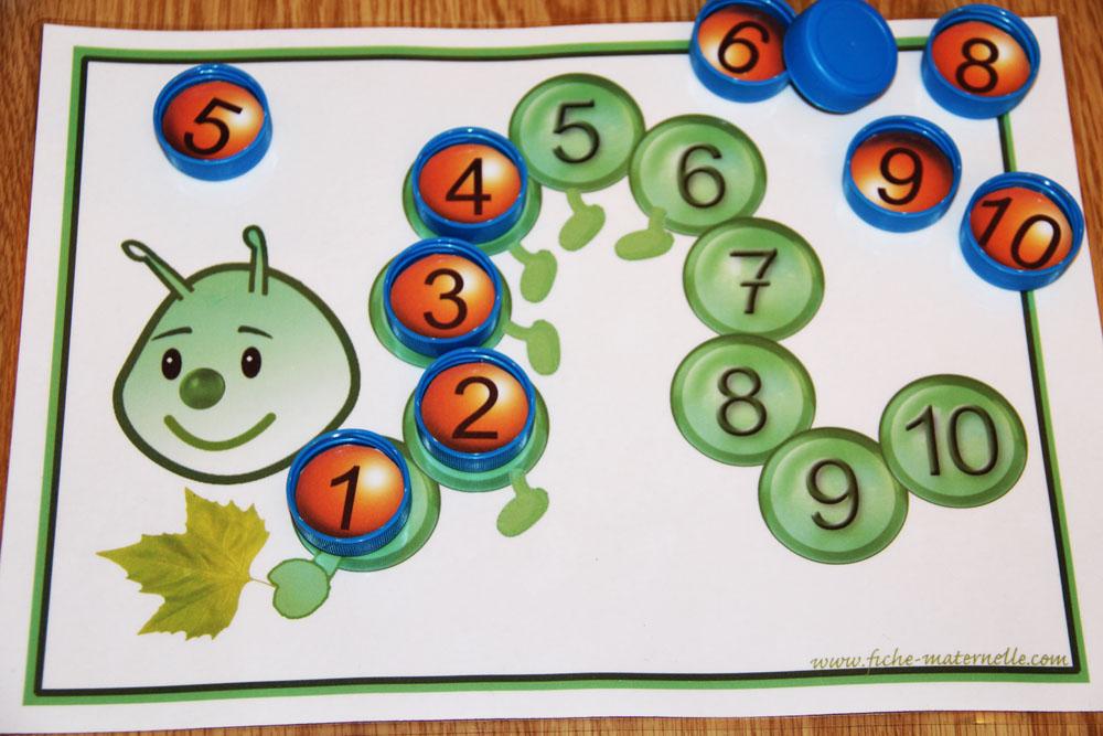 Jeux Mathematiques A La Maternelle
