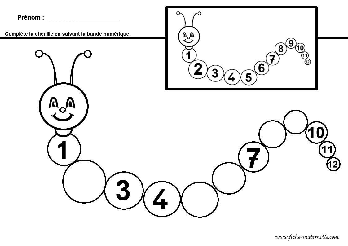 Préférence Maths en maternelle pour grande section et moyenne section  RK61