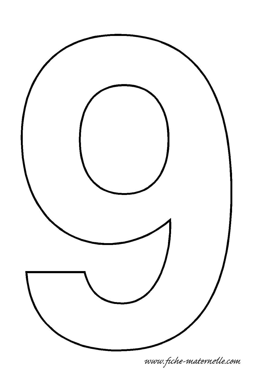 fiches maternelles   chiffres  u00e0 d u00e9corer en maternelle