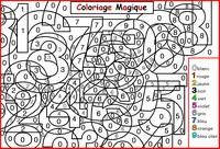 coloriage magique les chiffres niveau gs cp