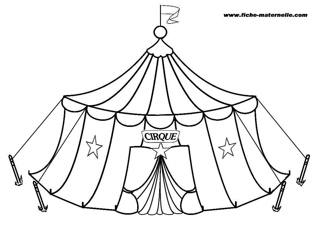 Coloriage : Le Cirque