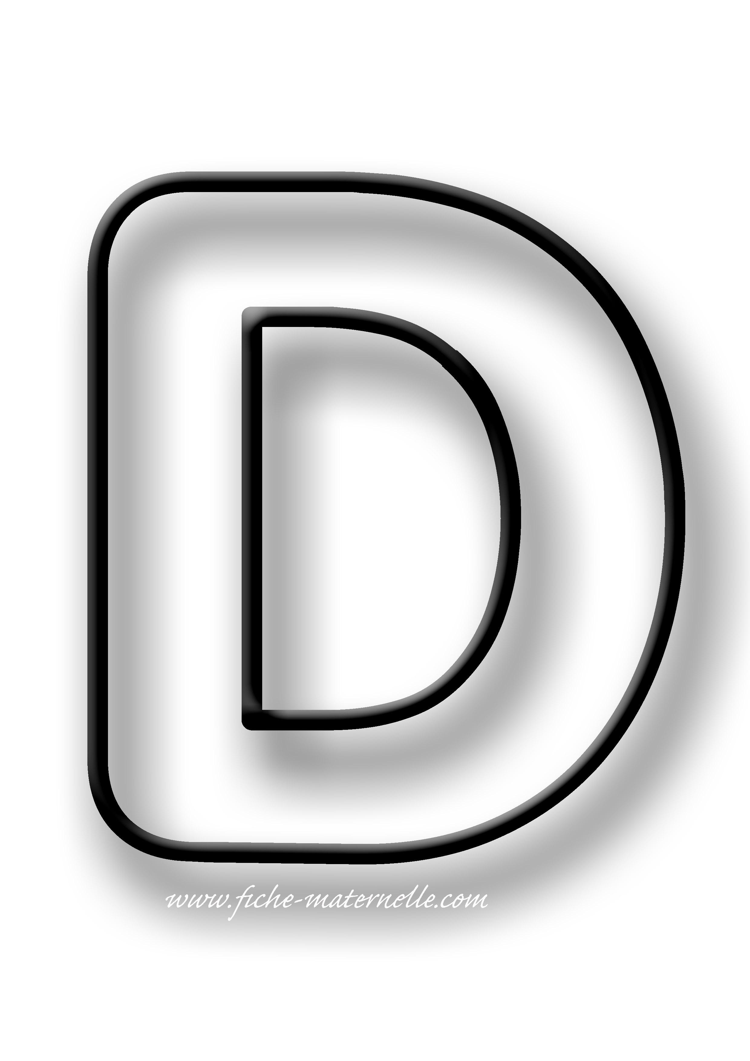 Coloriage des lettres - Coloriage d alphabet ...