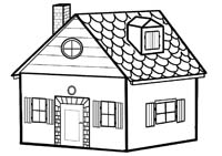 Comment dessiner une jolie maison - Dessin maison facile ...