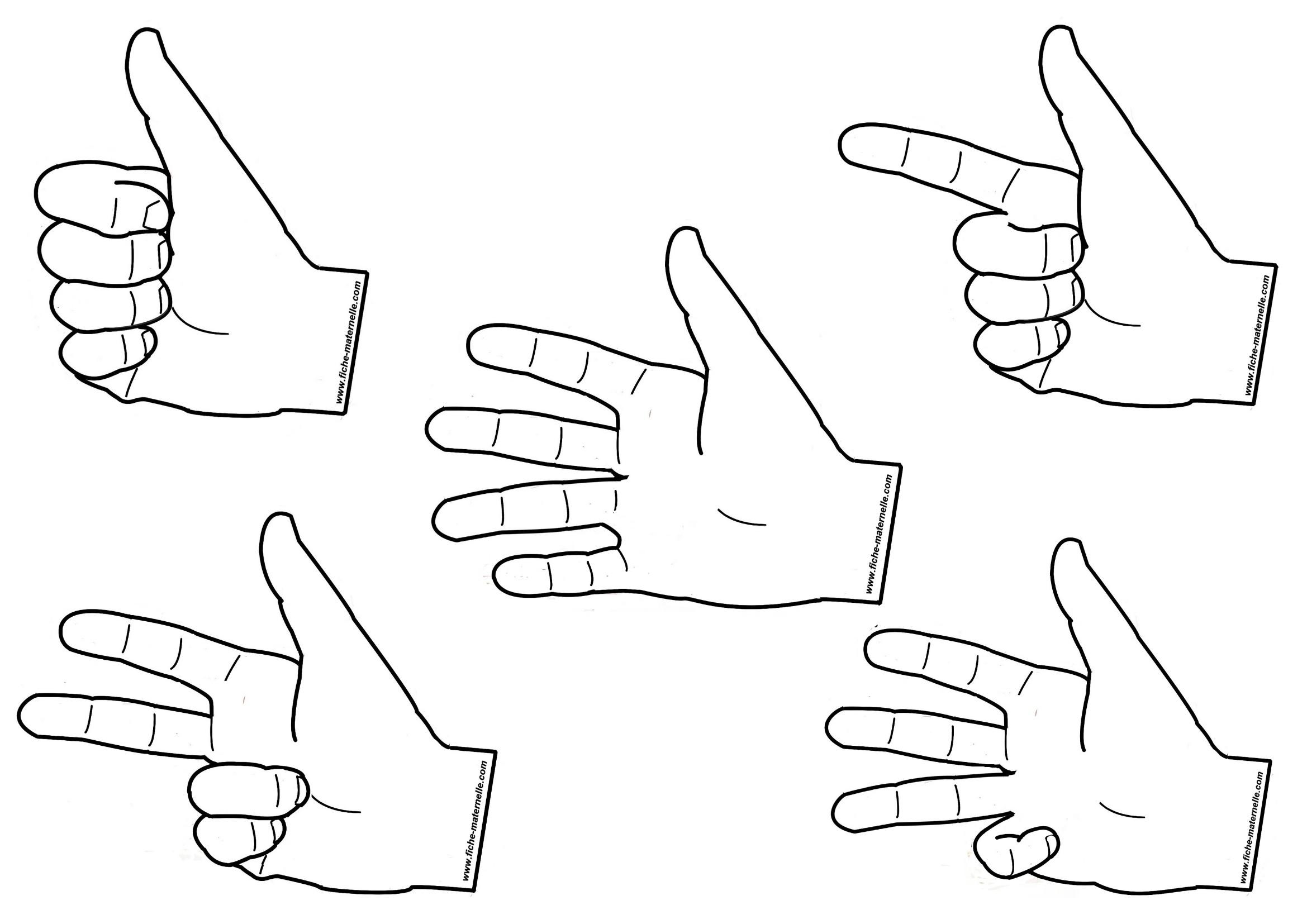 d u00e9nombrer avec les mains en maternelle