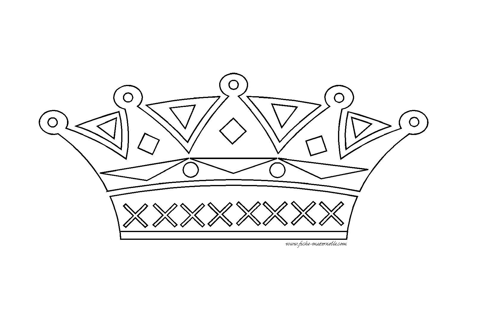 Fotos coloriage la couronne brillante pour le - Couronne de noel a colorier ...