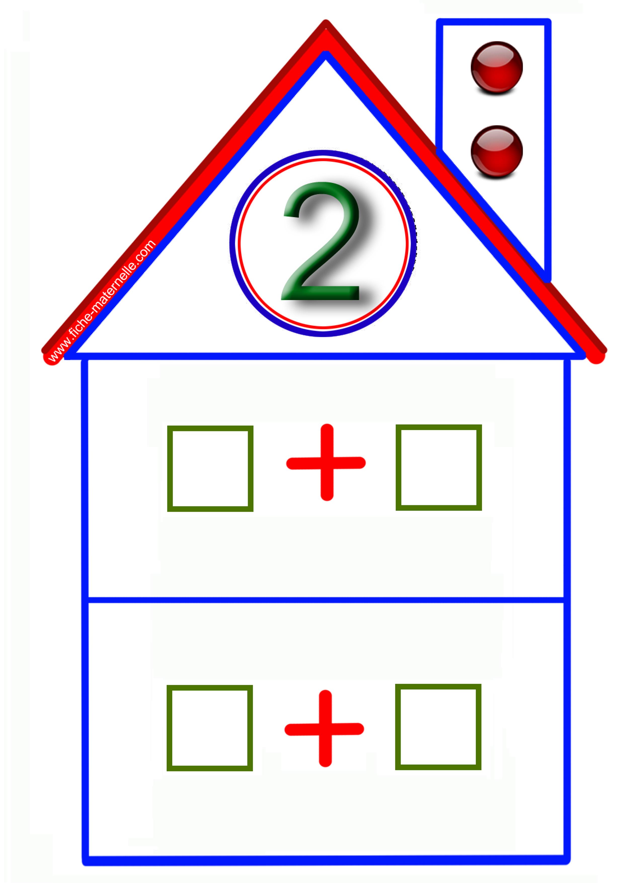 Jeux math matiques en maternelle for La maison du jetable