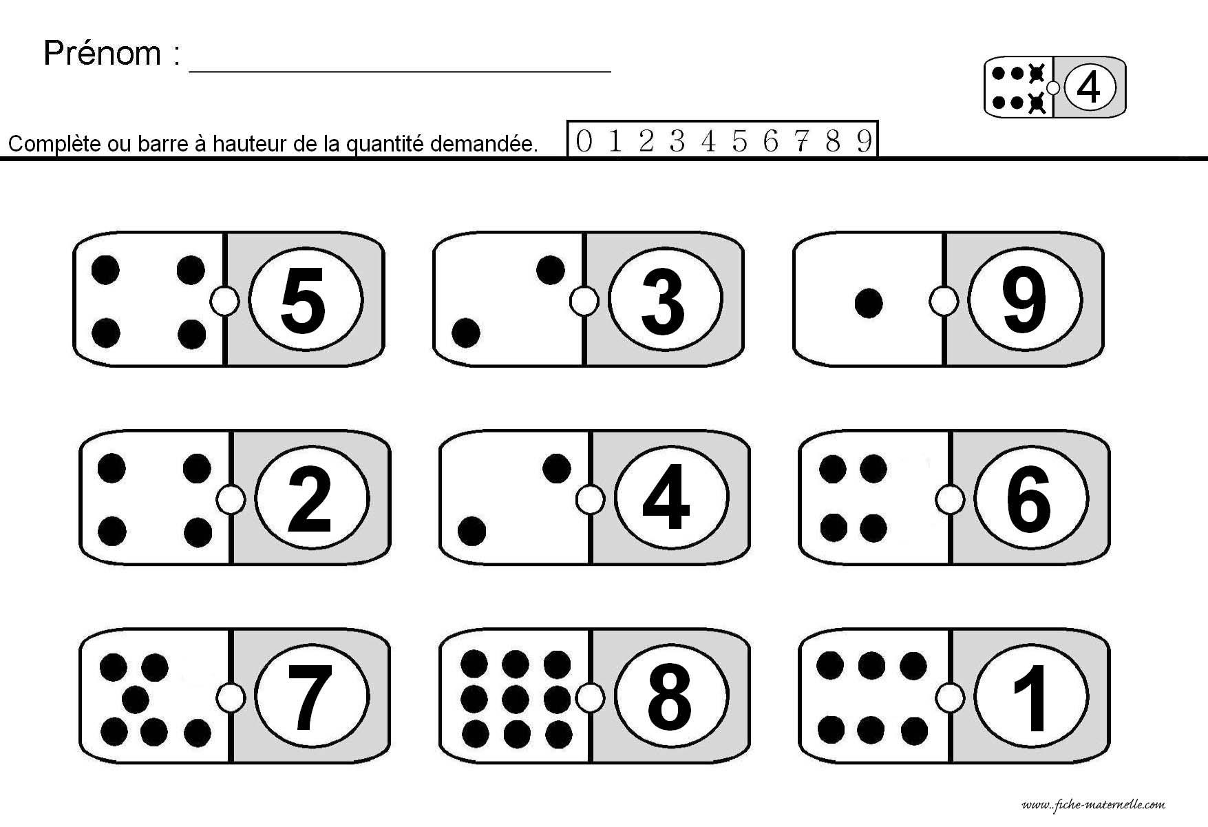 mathmatiques en maternelle