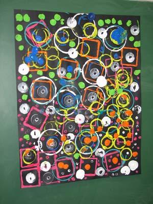 Empreintes De Peintures En Maternelle Gs Et Ms