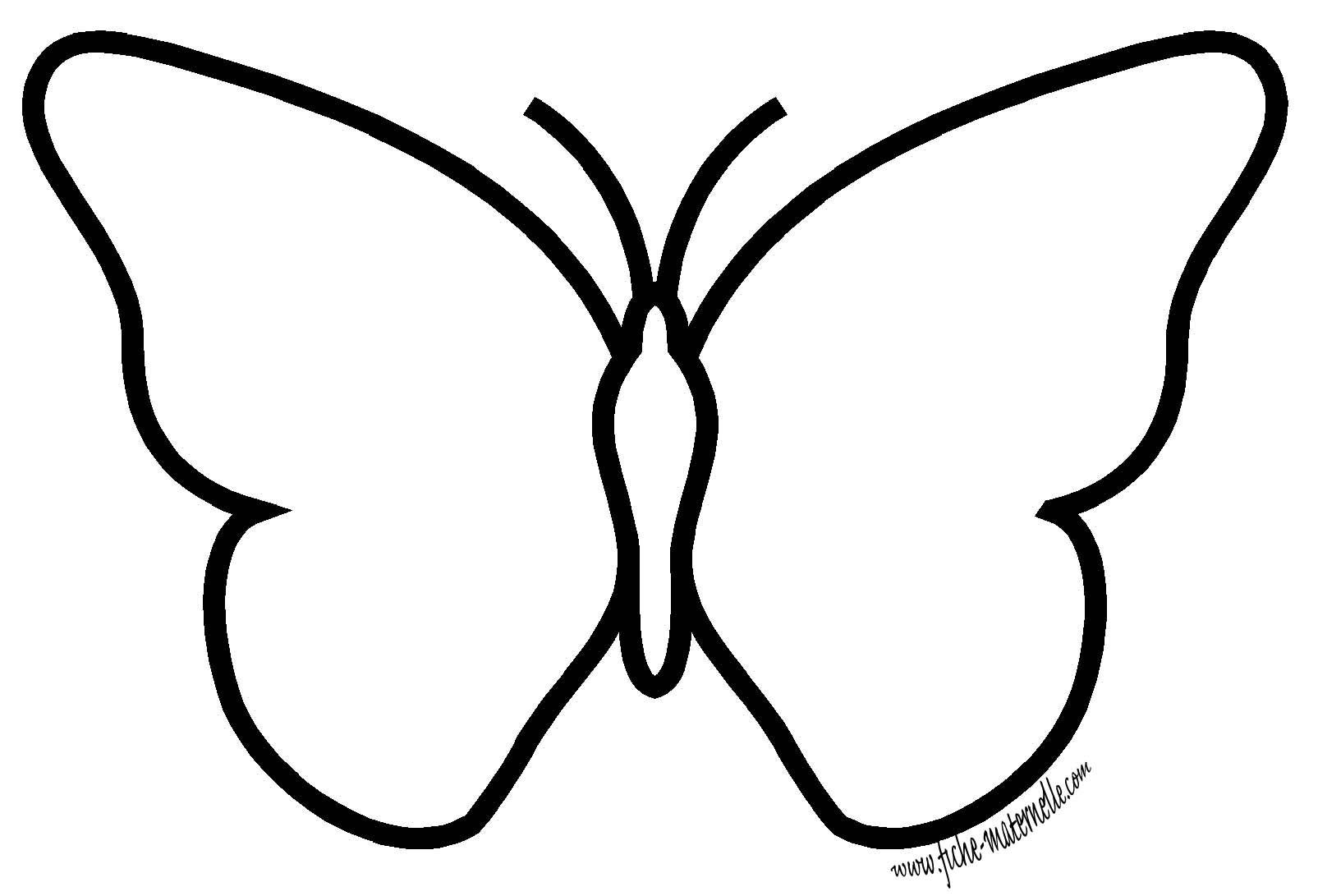 La sym trie en maternelle le papillon - Papillon maternelle ...