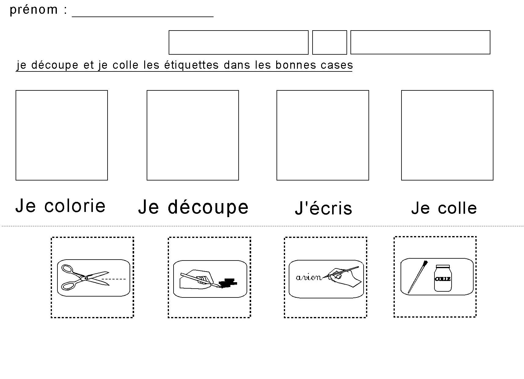 Extrêmement Fiches maternelles : affichage des CONSIGNES illustrées pour la  FW69