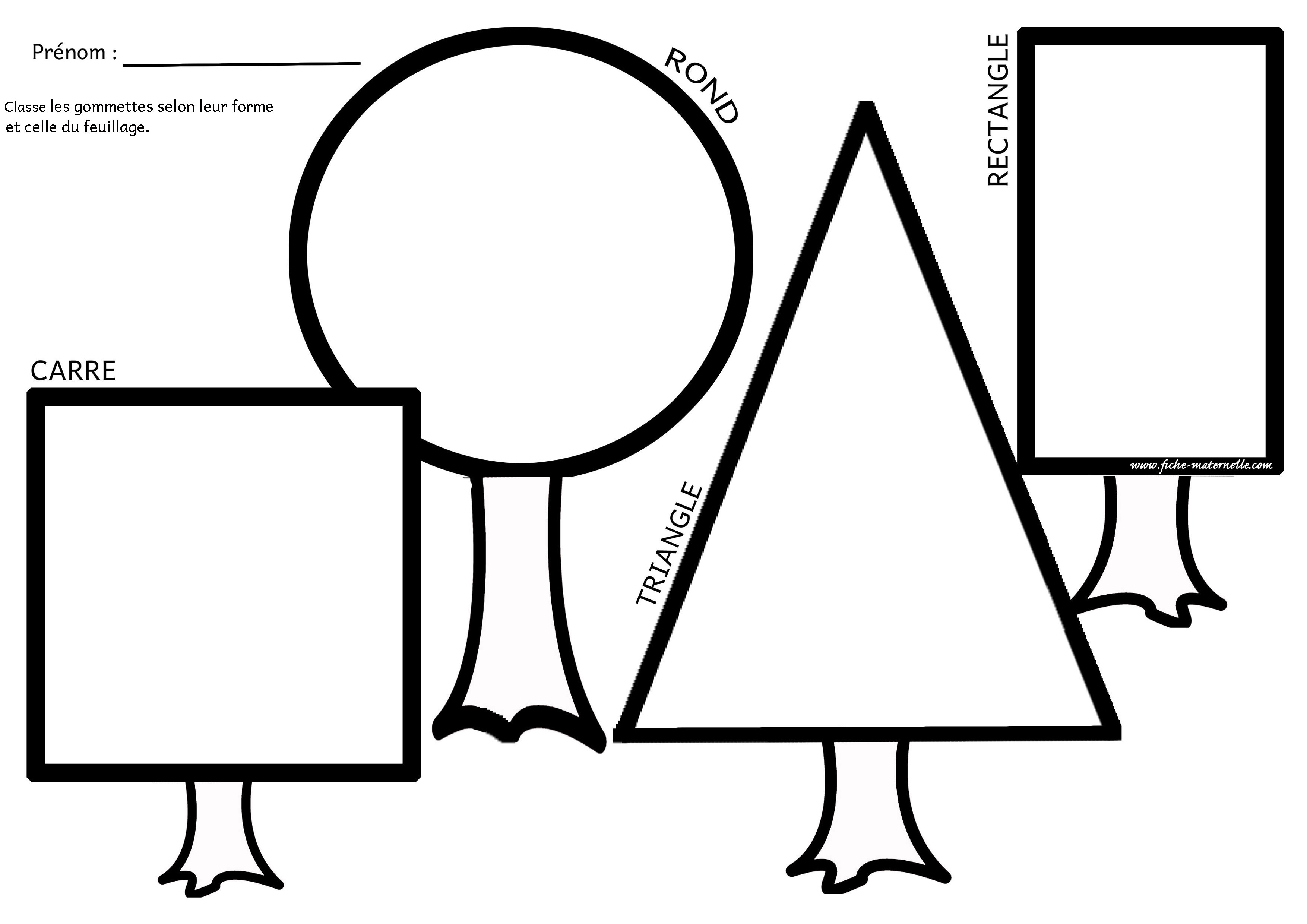 figures geometriques formes