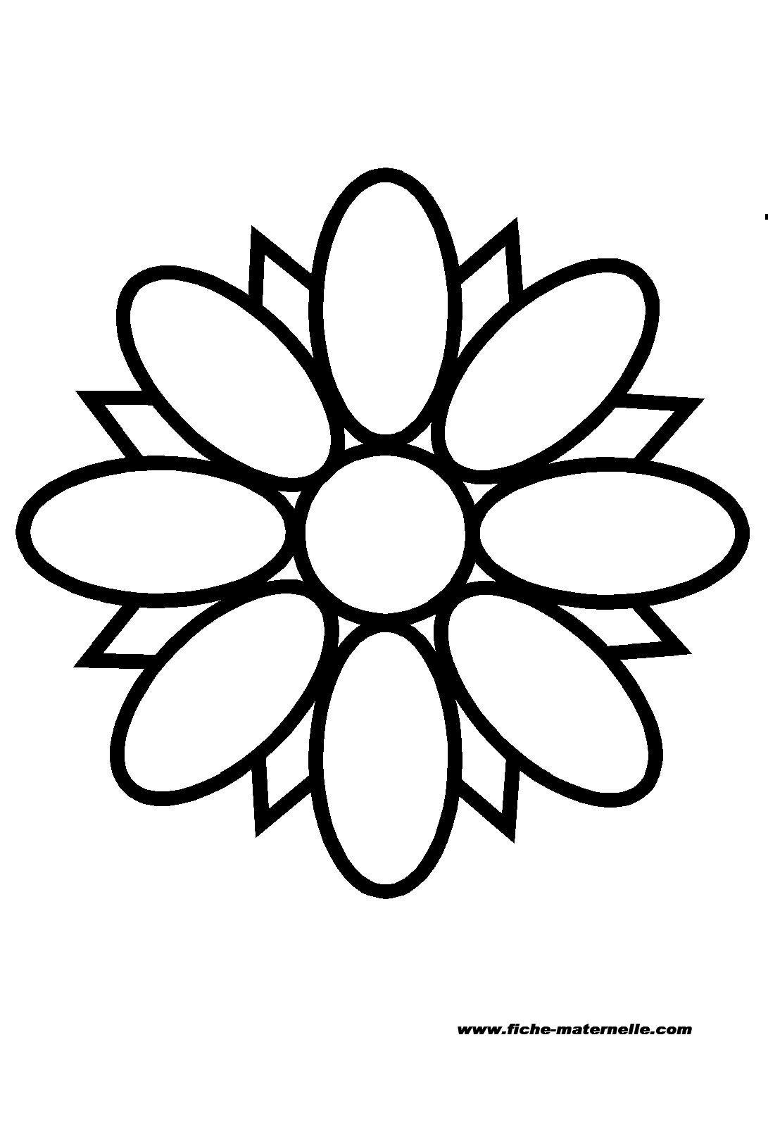 Pin atelier pour enfants de 5 a 10 ans on pinterest - Coloriage fleurs maternelle ...