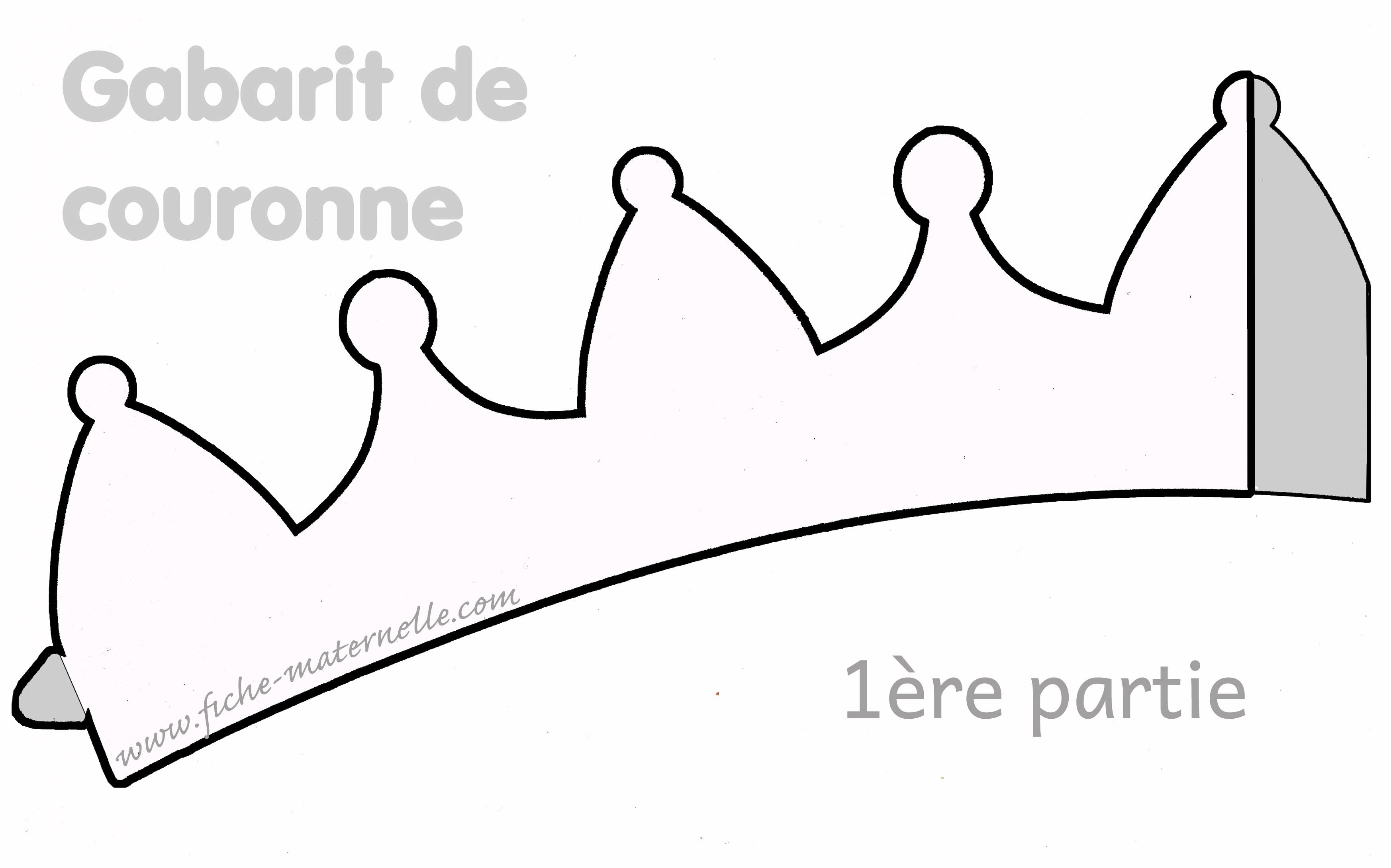 Gabarit Dune Couronne Des Rois