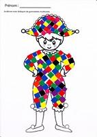 Coloriage Sur Le Theme Du Carnaval