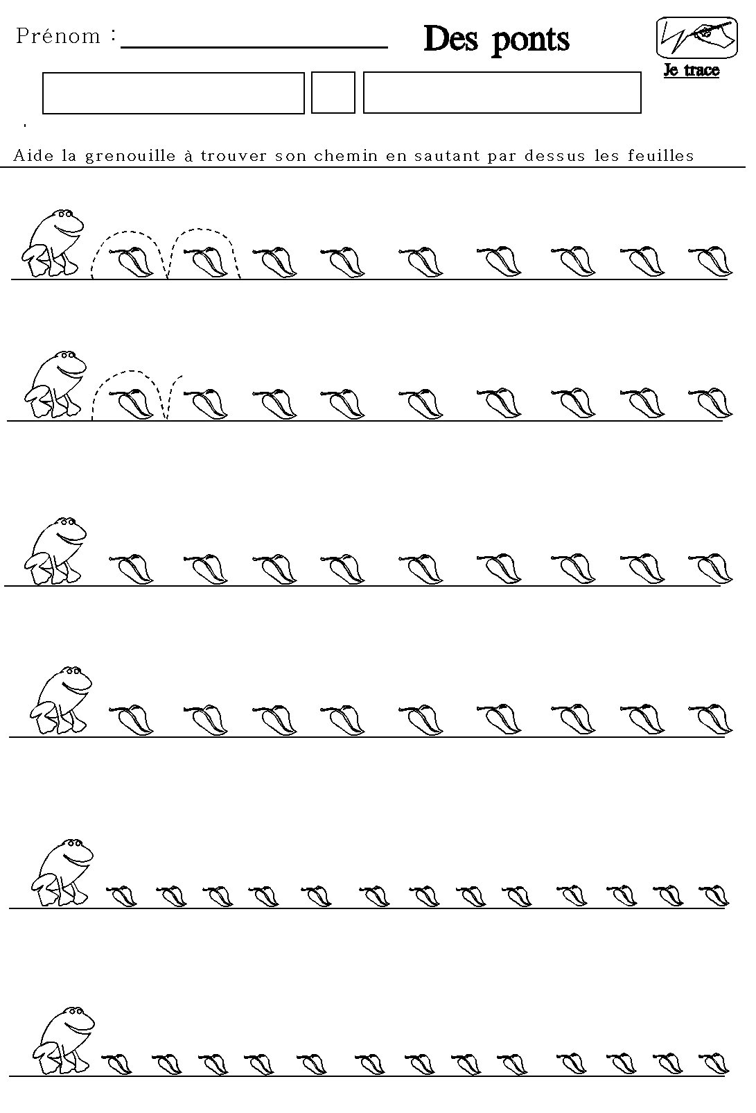 Favorit fiches maternelles de graphisme grande section moyenne section  AJ72