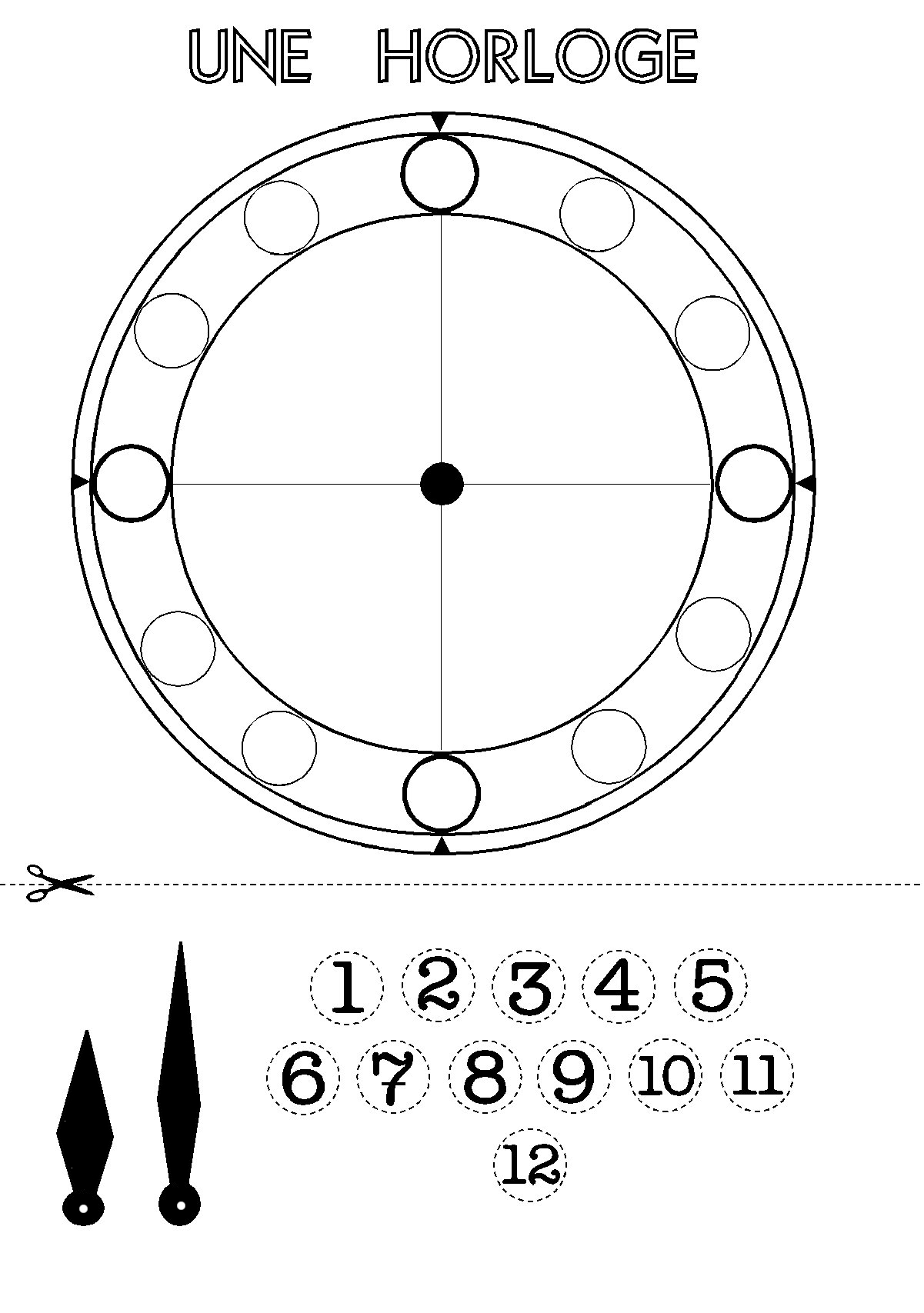 horloge : fiche technique sur l'horloge