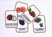 imagier des fruits