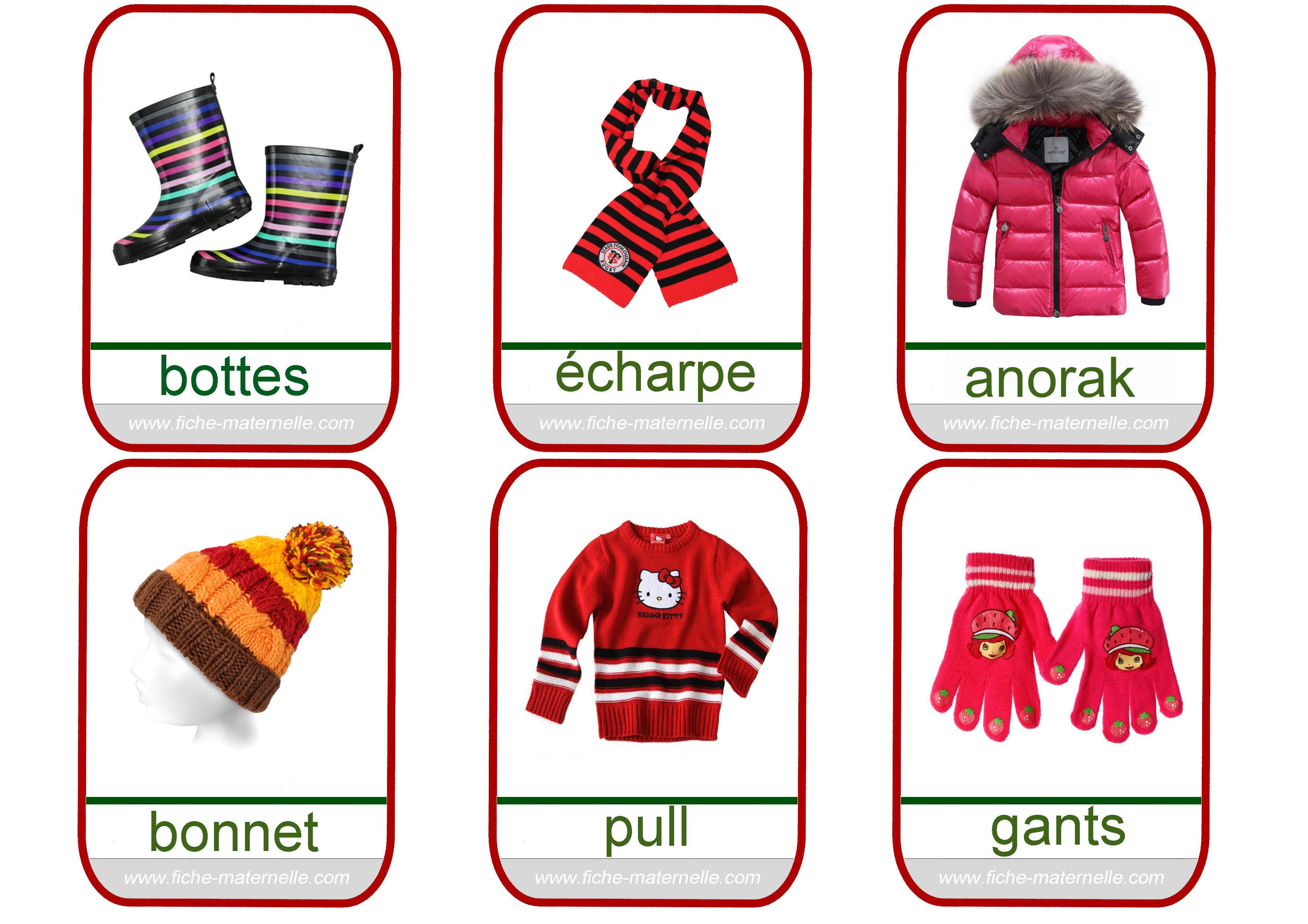 Imagier des vêtements ace639b0f542
