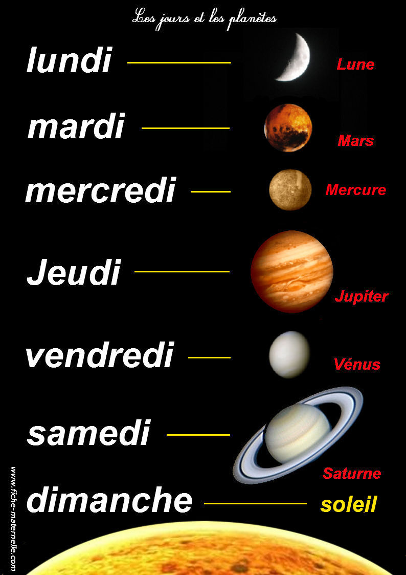 planets in french - photo #4