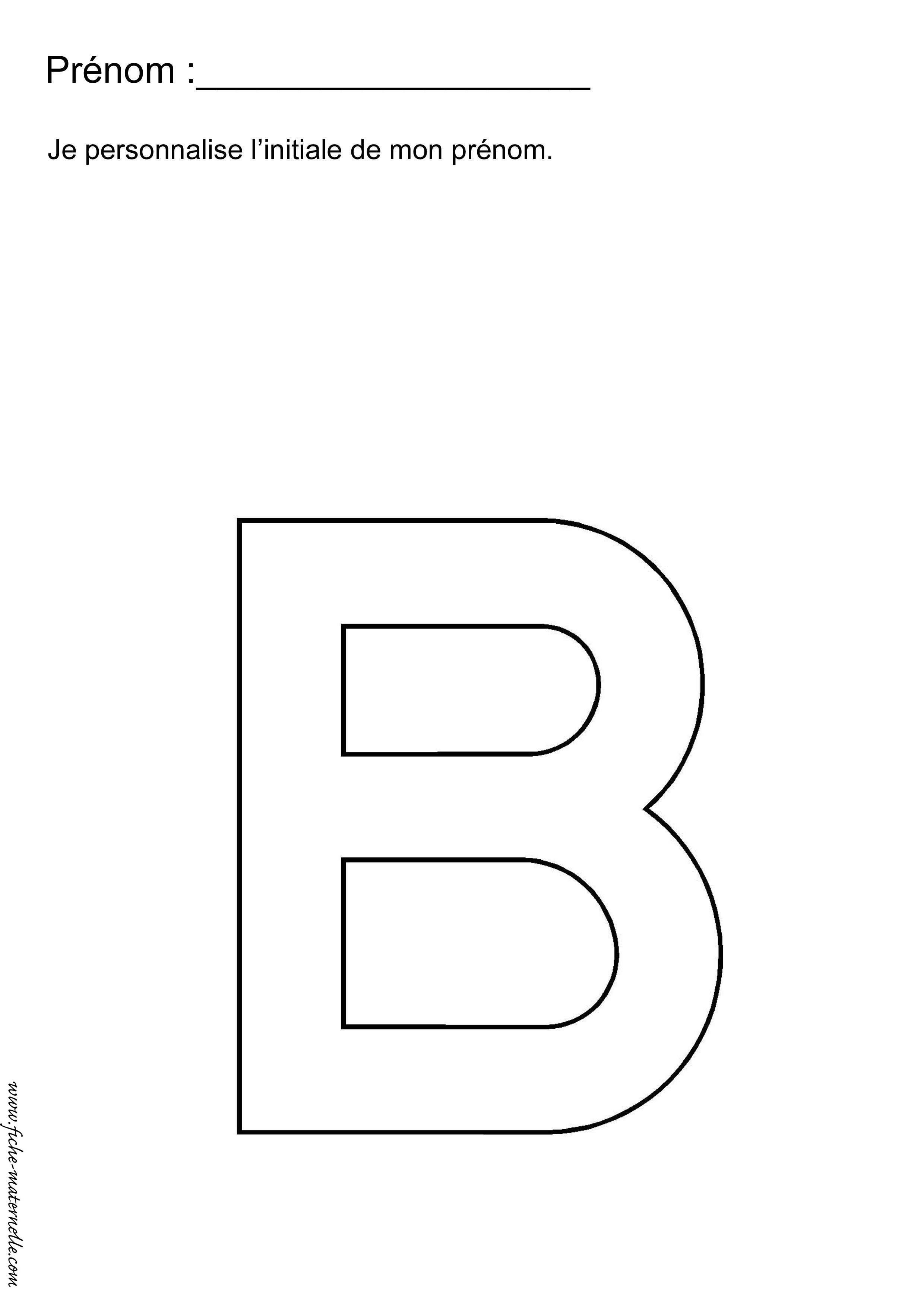 Exercices de maternelle pour la rentr e for La b b