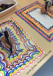 Fiches Maternelles Activites Les Arts Visuels En Maternelle Obtenir De Jolis Effets Graphiques