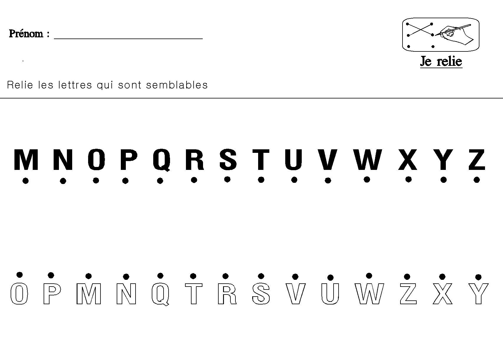 Tr s bien extreme exercices alphabet maternelle ag76 - Alphabet francais maternelle ...