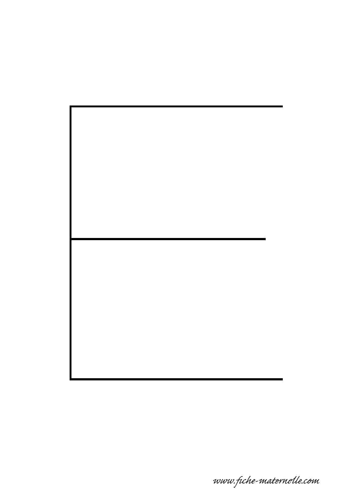 Lettre de l 39 alphabet d corer la lettre capitale e fil de fer - Lettres de l alphabet a decorer ...