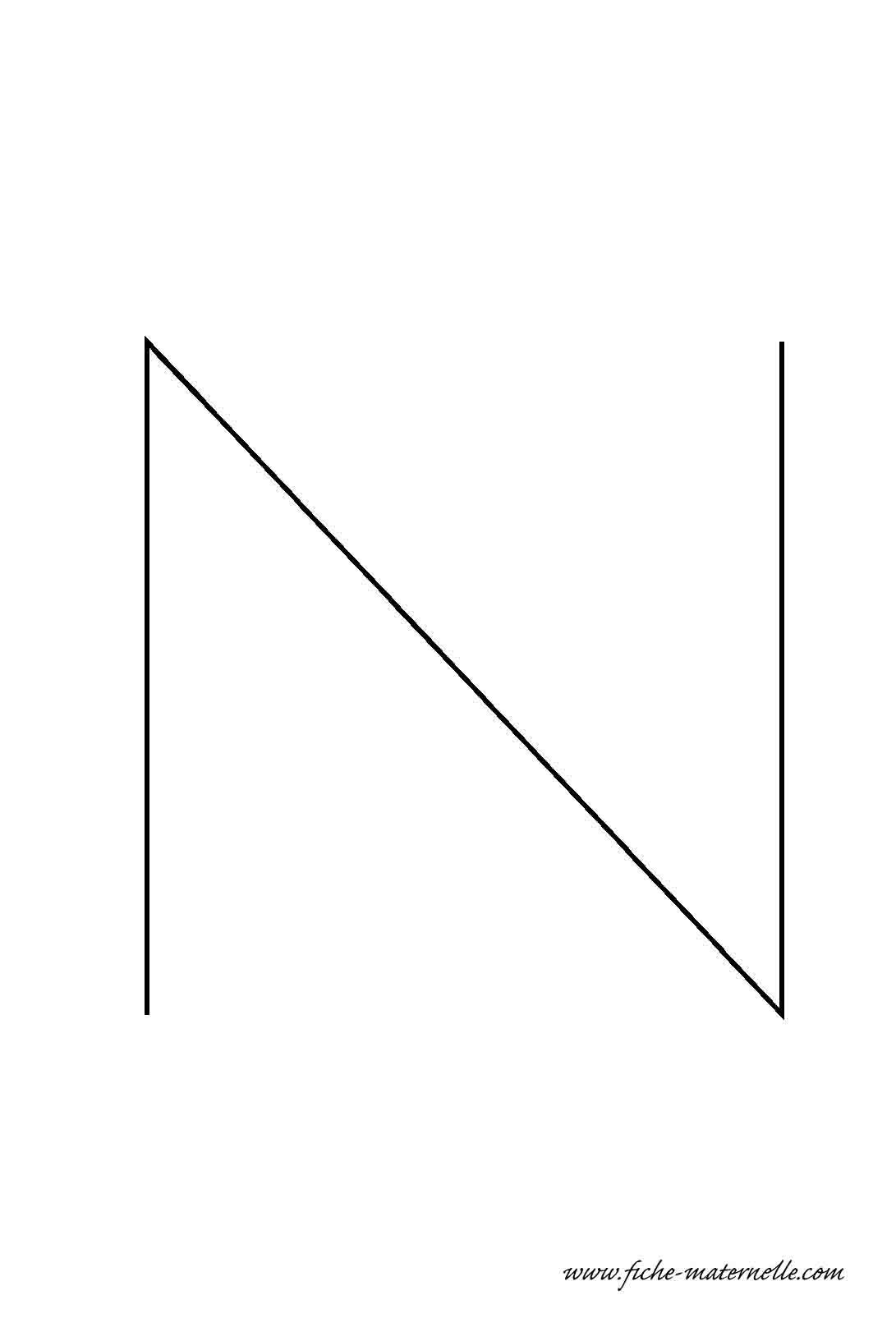 Lettre de l 39 alphabet d corer la lettre capitale n fil de fer - Lettres de l alphabet a decorer ...