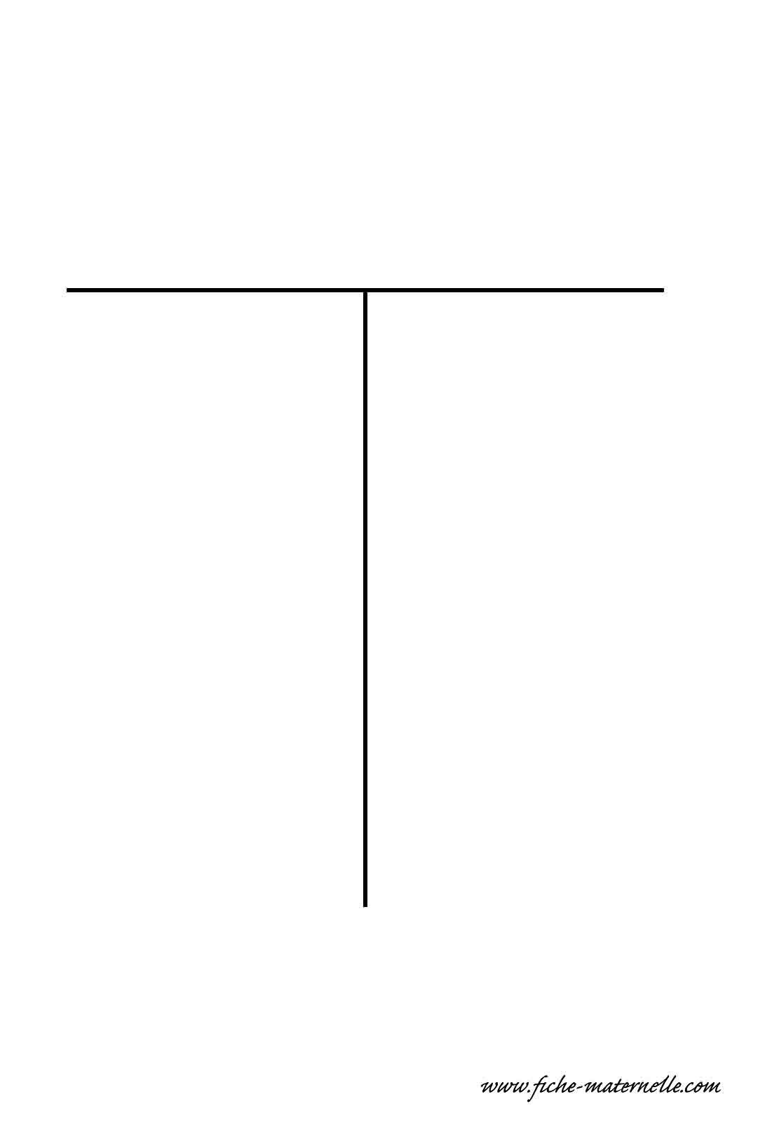 Lettre de l 39 alphabet d corer la lettre capitale t fil de fer - Lettres de l alphabet a decorer ...