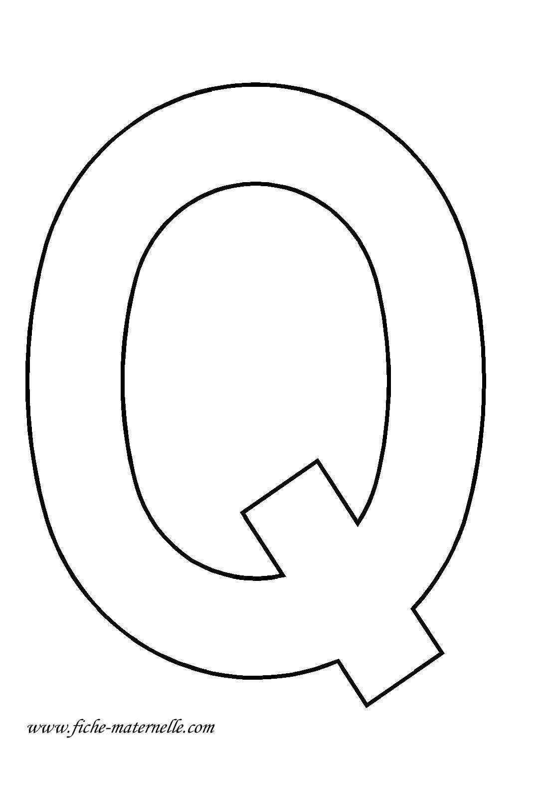 lettre q La lettre Q   Amoilesserps.com lettre q
