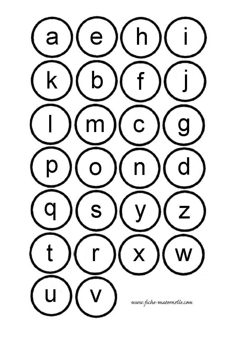 lettre script Ressources pédagogiques : apprendre à lire en maternelle et cp lettre script