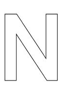 lettre vide n