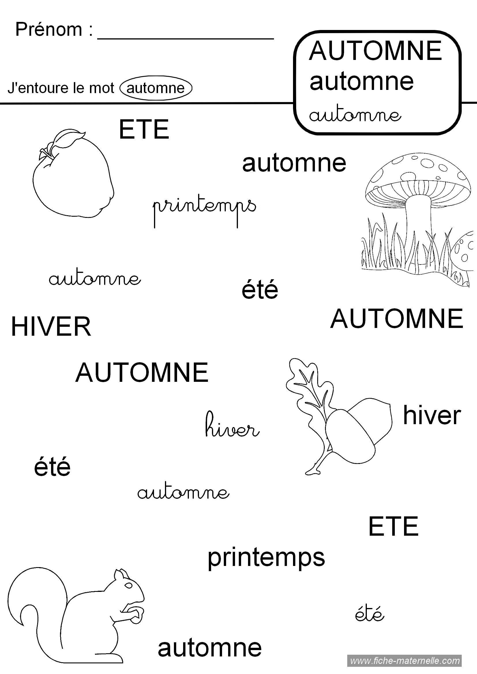Activit automne maternelle - Activite automne maternelle ...