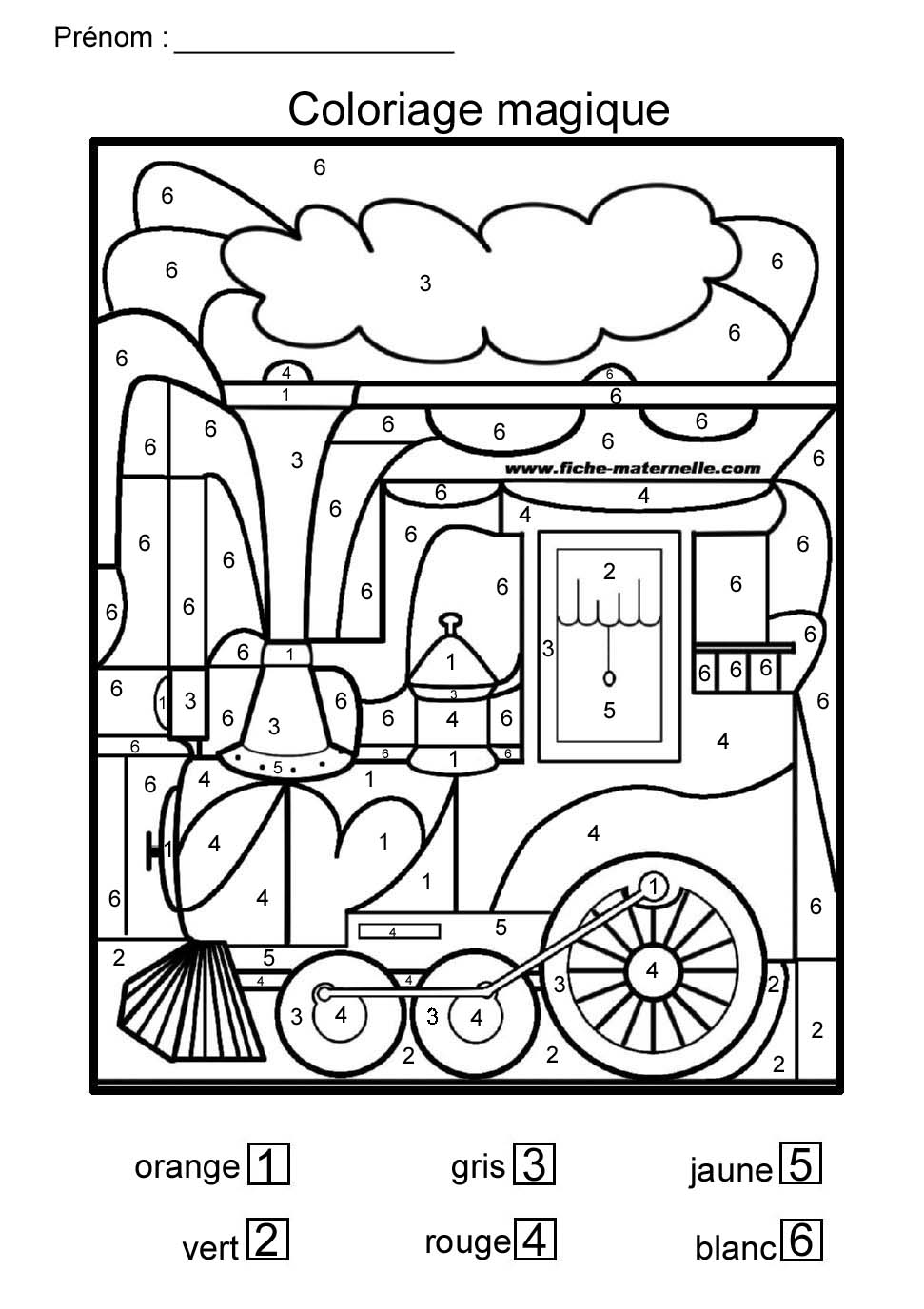 Coloriage Code Grande Section.Coloriage Magique Pour Moyenne Section Et Grande Section