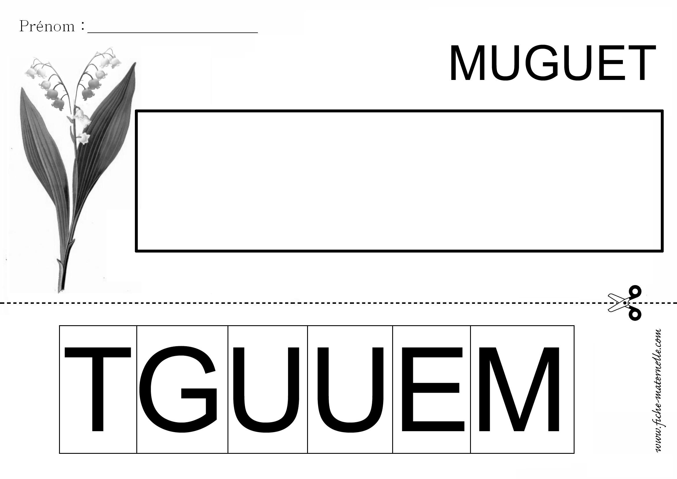 le mot muguet