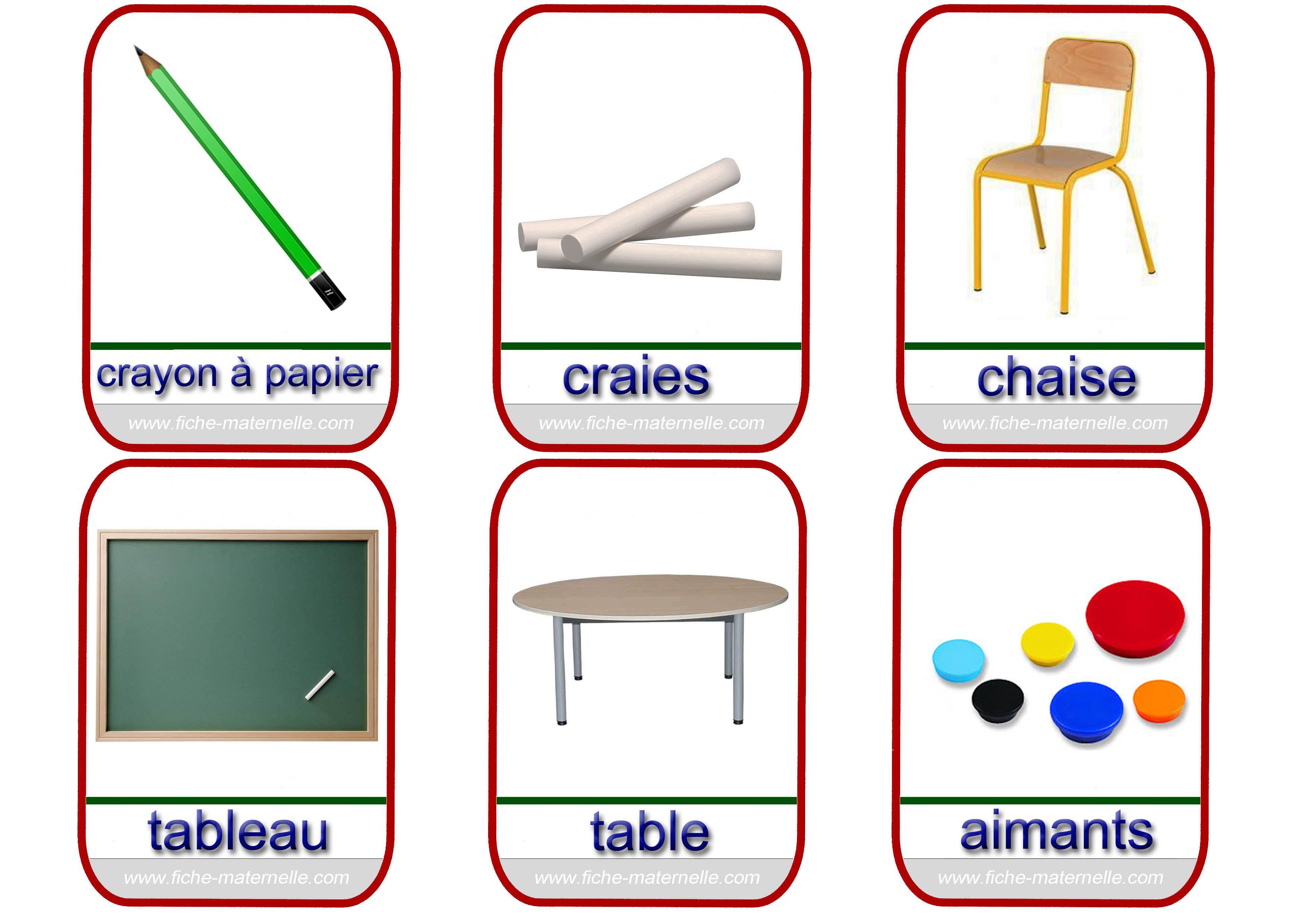 Imagier - Liste des outils de bricolage ...