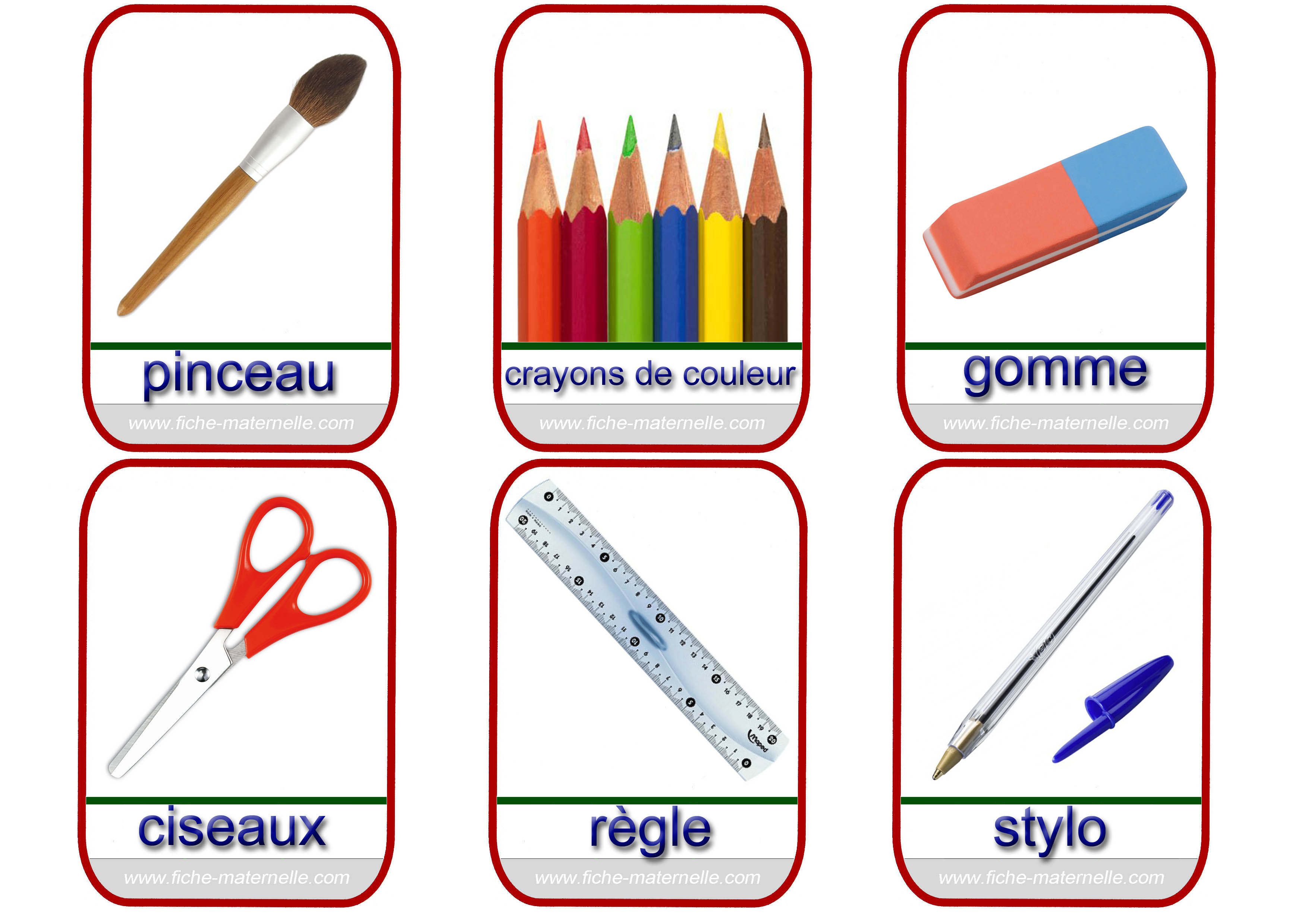 Imagier - Image classe maternelle ...
