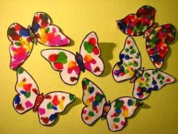 papillon à l encre
