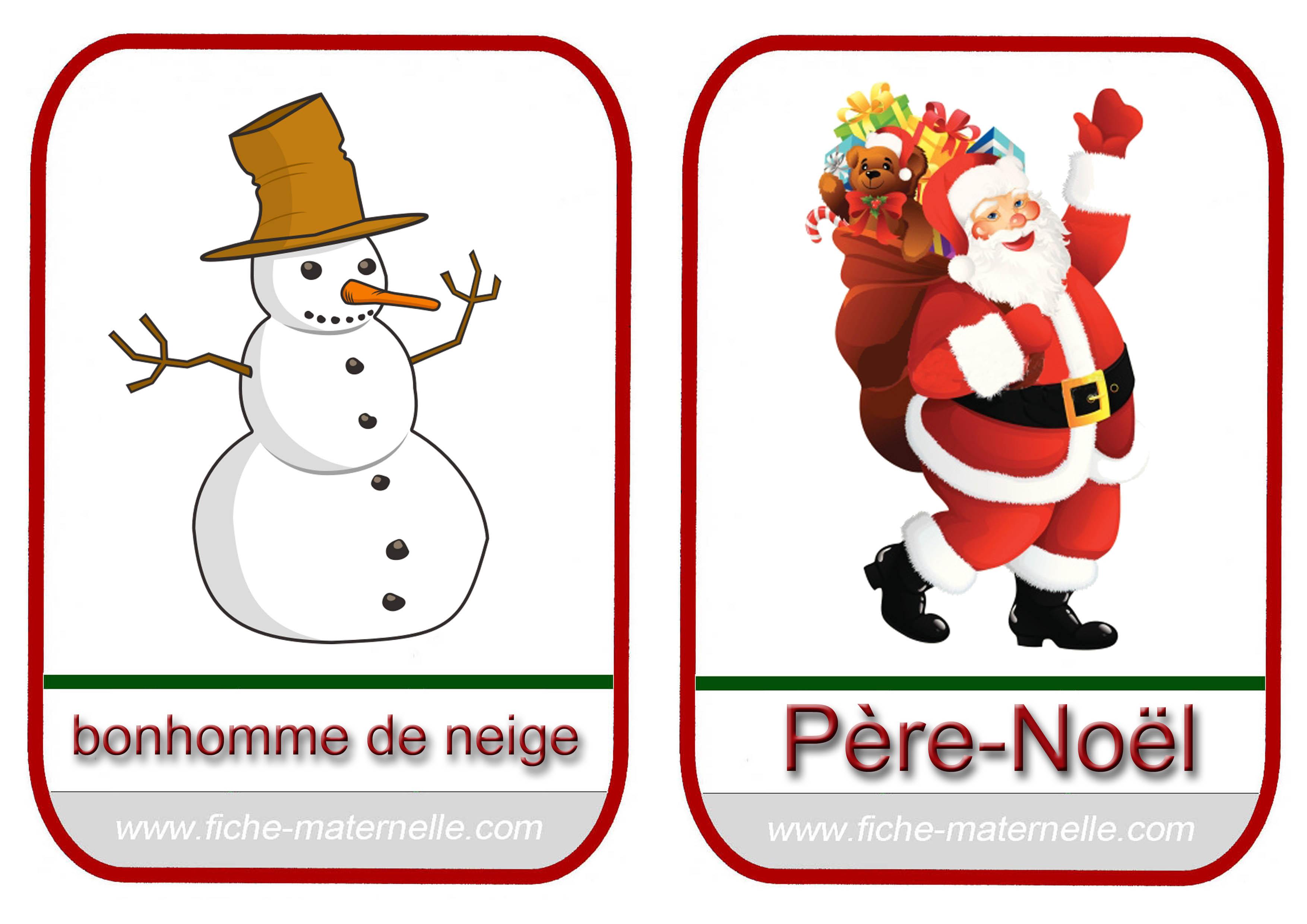 No l en maternelle - Pere noel maternelle ...