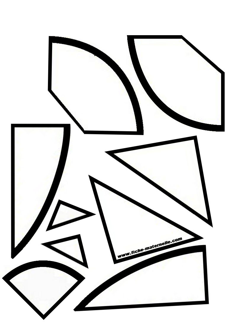 tangram coloring pages - photo#26