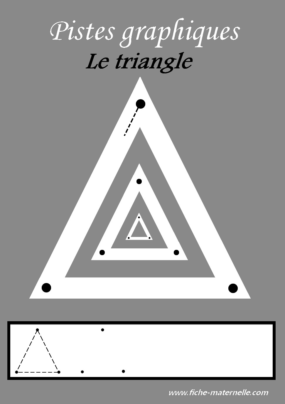 Tracer des triangles